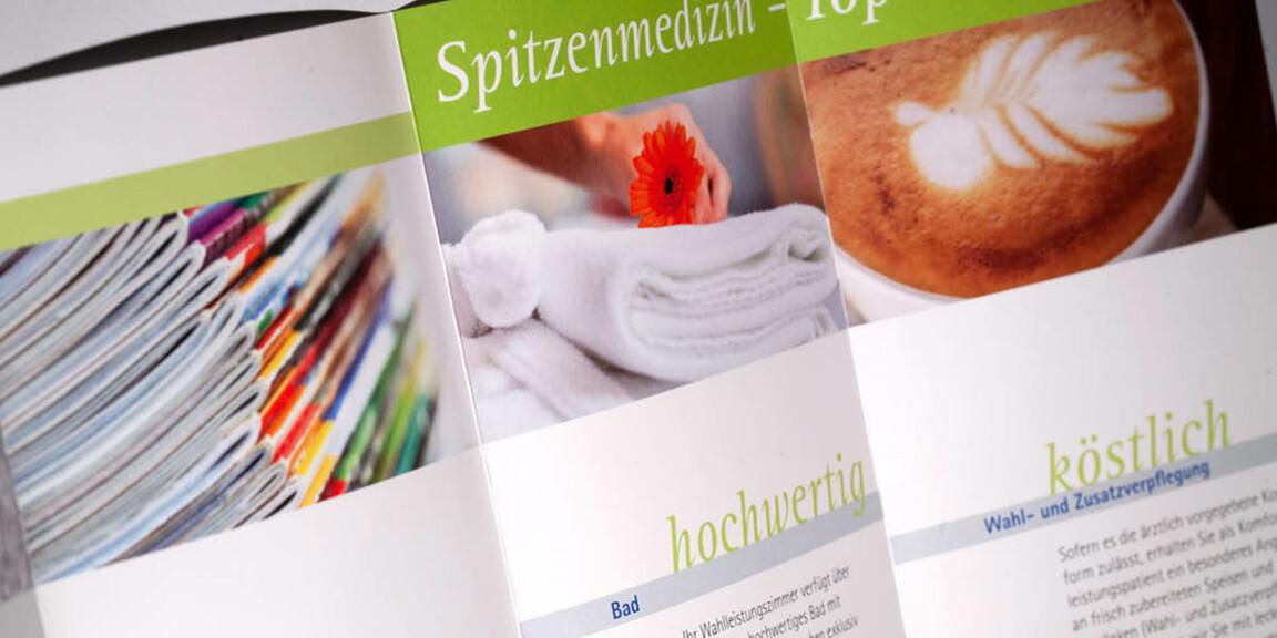 Diakonie-Klinikum - Faltblatt