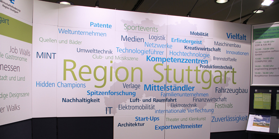 Orientierungssystem - Messestand - 03