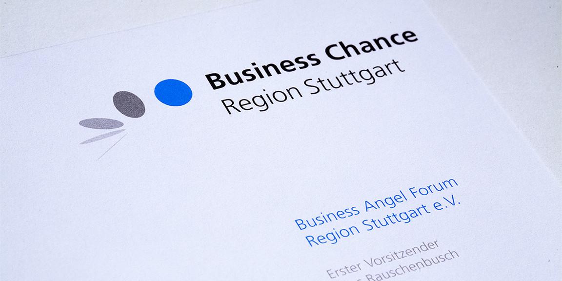 Business Chance - Briefbogen, Geschäftsausstattung