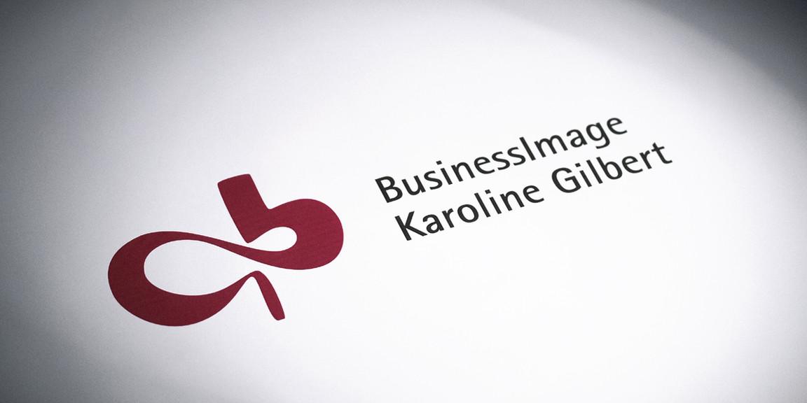 Karoline Gilbert - Imagekarte, Grundgestaltung der Website, Website