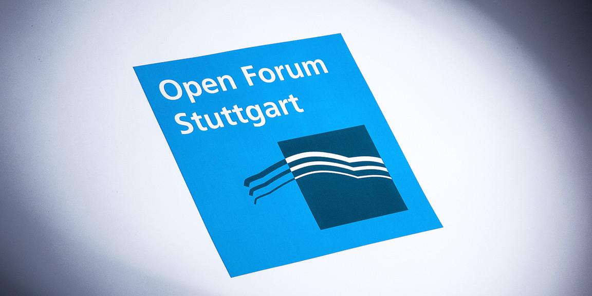 Open Forum - Veranstaltungslogo