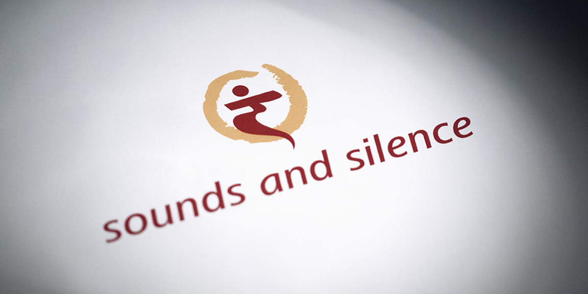 sounds and silence - Logo, Visitenkarten