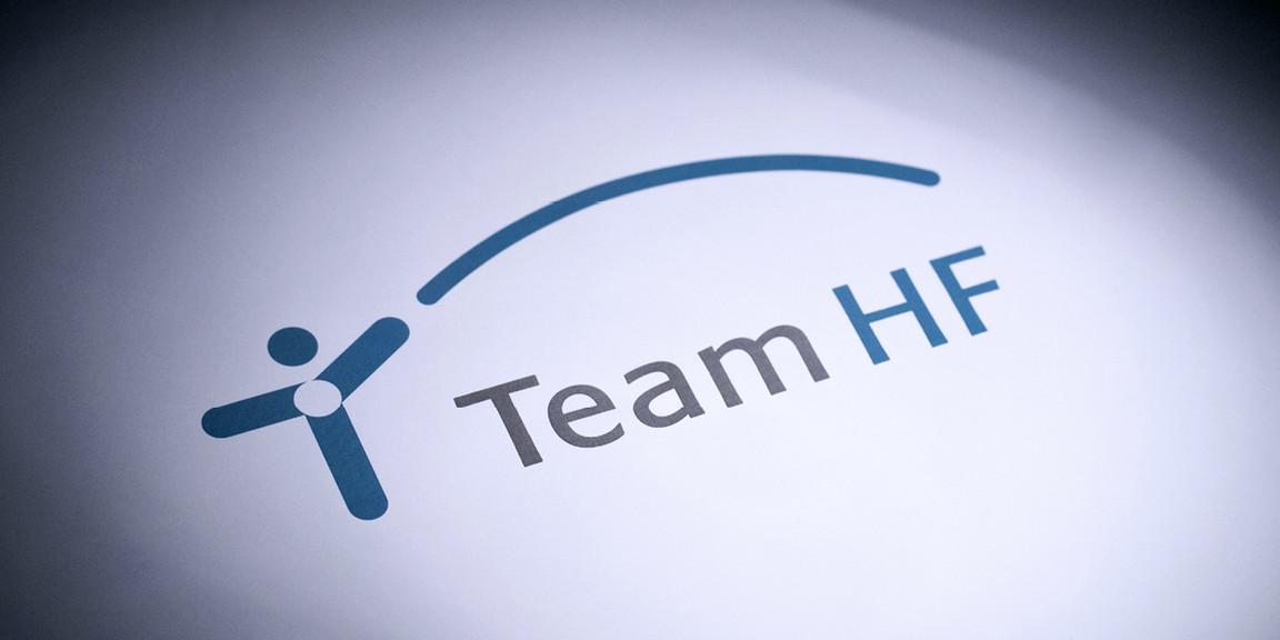Team HF - Technik, Mensch, Bildmarke
