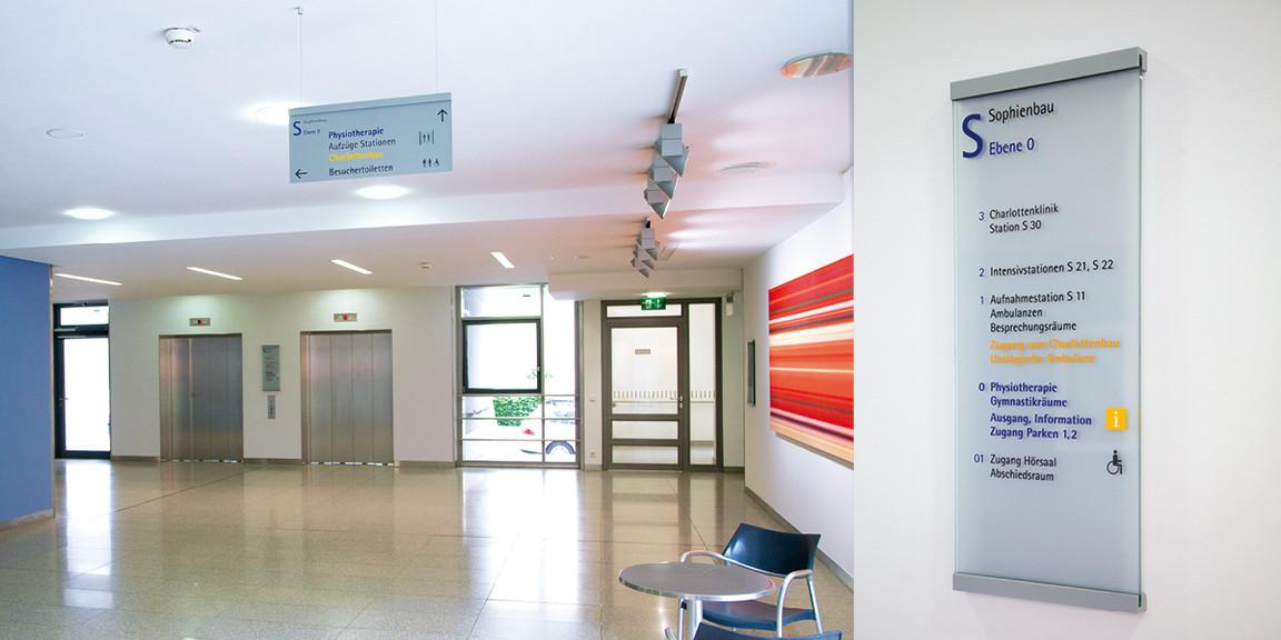 Orientierungssystem - Diakonie - Klinikum - 08