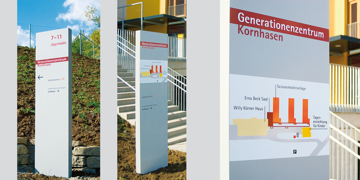 Orientierungssystem - Generationenzentrum - 03