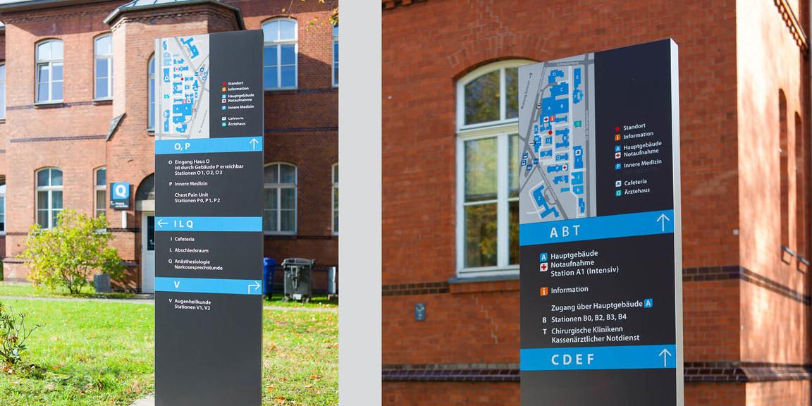 Orientierungssystem - Klinikum - Region - Hannover - Nordstadt - 05