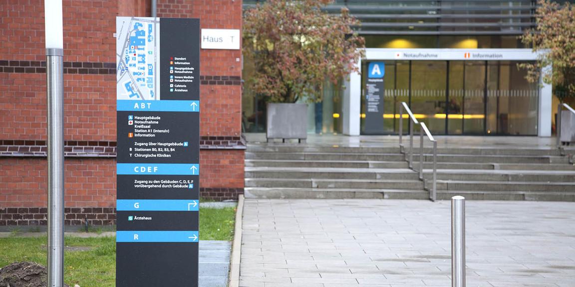 Orientierungssystem - Klinikum - Region - Hannover - Nordstadt - 06