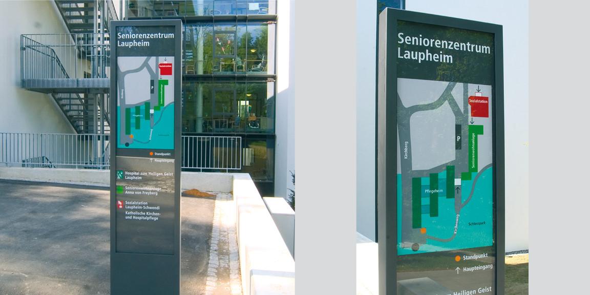 Orientierungssystem - Seniorenzentrum - Laupenheim - 02