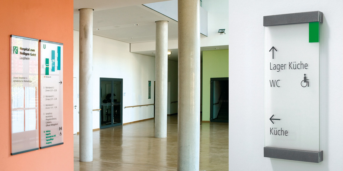 Orientierungssystem - Seniorenzentrum - Laupenheim - 03