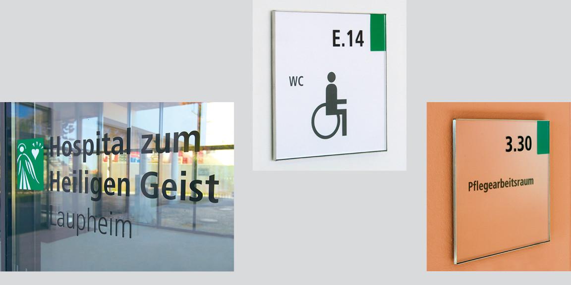Orientierungssystem - Seniorenzentrum - Laupenheim - 04