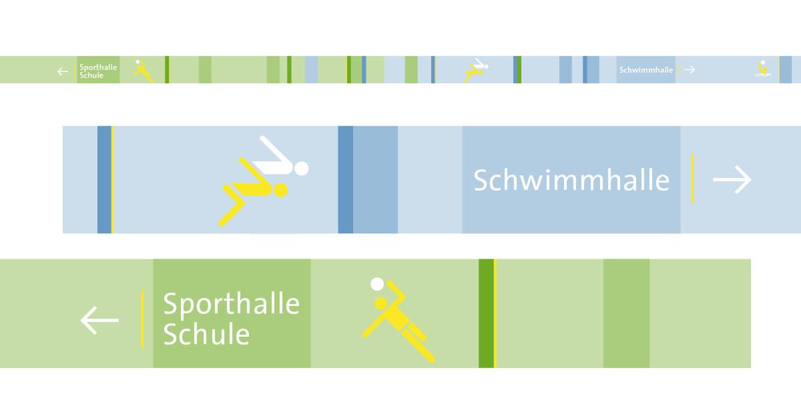 Leitsystem - Stadt - Gerlingen - Tiefgarage - 04