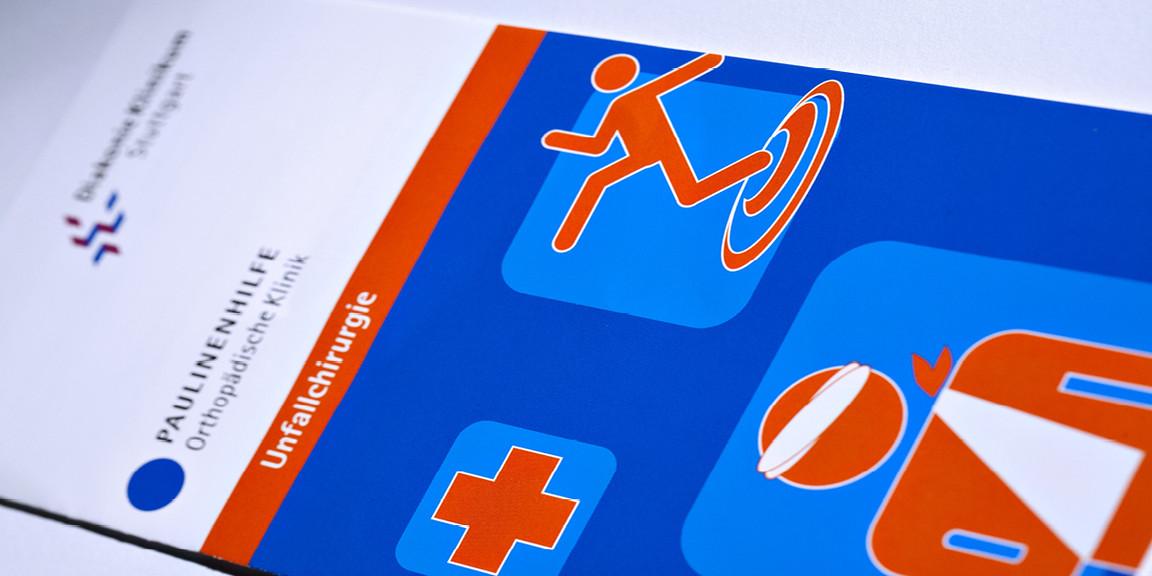 Diakonie Klinikum - Titelgrafik aus Piktogrammen