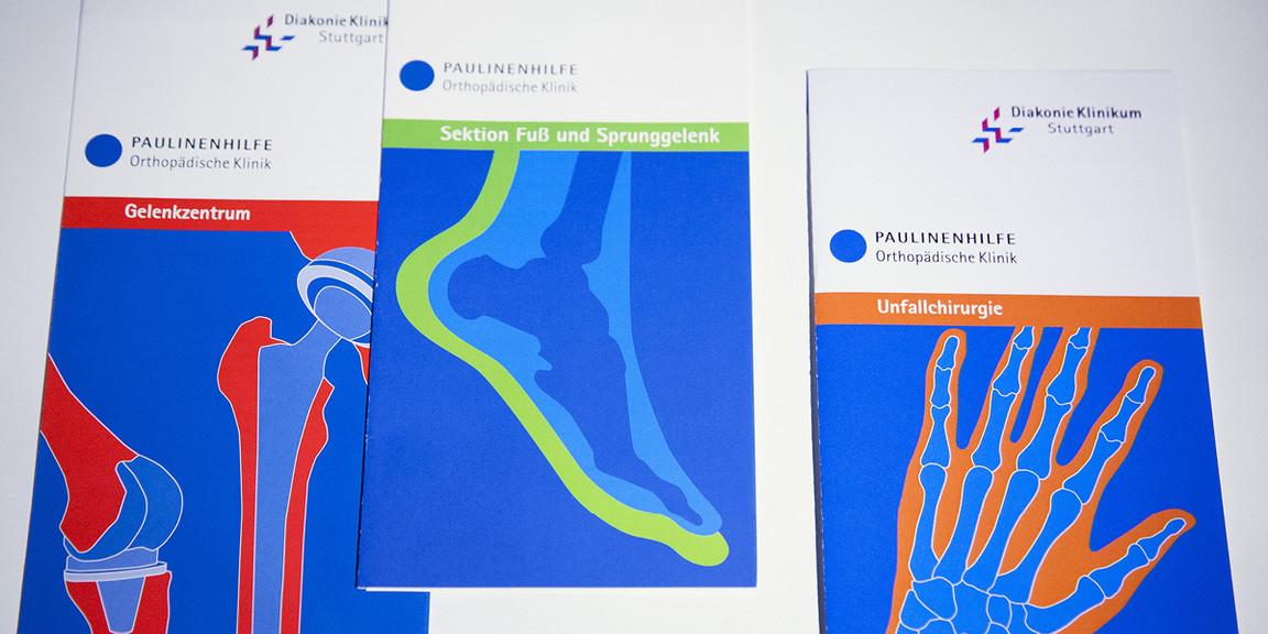 Diakonie Klinikum - abstrahierte Körperteile