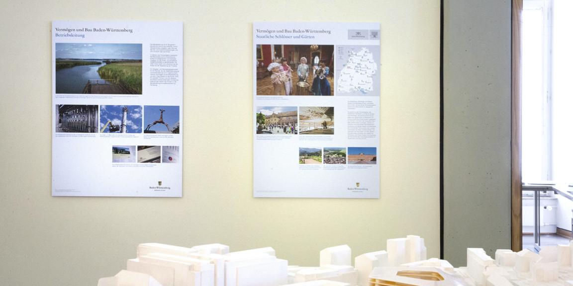 Vermoegen und Bau - Lese-Plakate