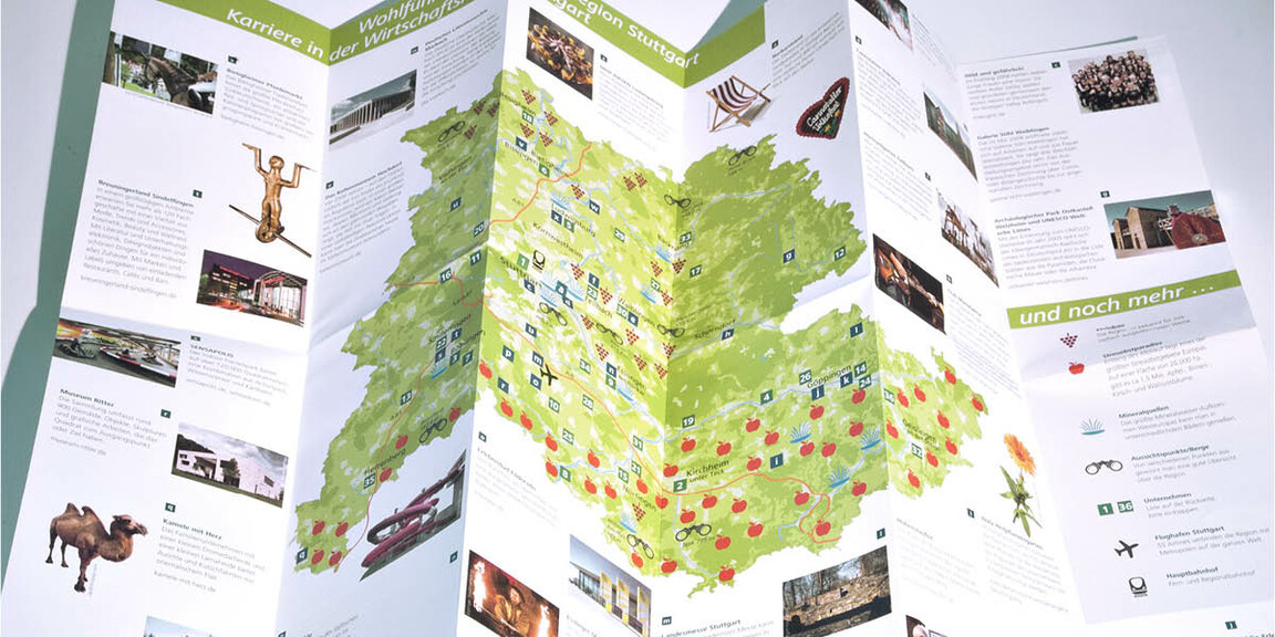 Wirtschaftsförderung Region Stuttgart - Landkarten