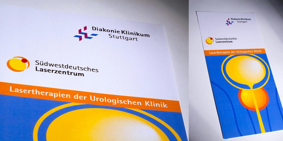 Logoentwicklung, Laserzentrum, Laser, Flyer