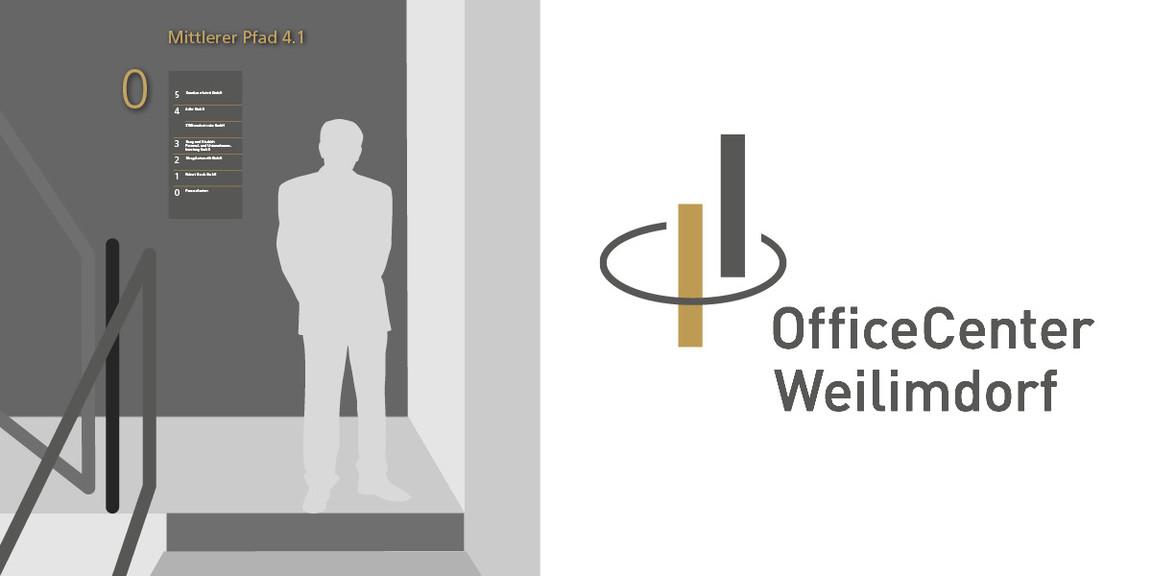 Logoentwicklung, Beschriftung, Planungsbüro, Schildersystem