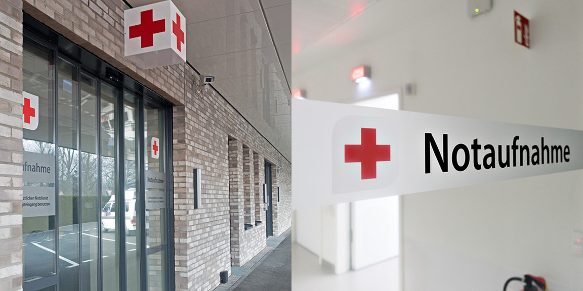 Orientierungssysteme, Klinikum, Hannover
