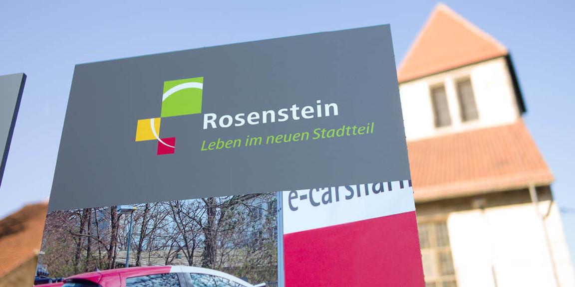 Rosenstein Viertel - Stelen 01