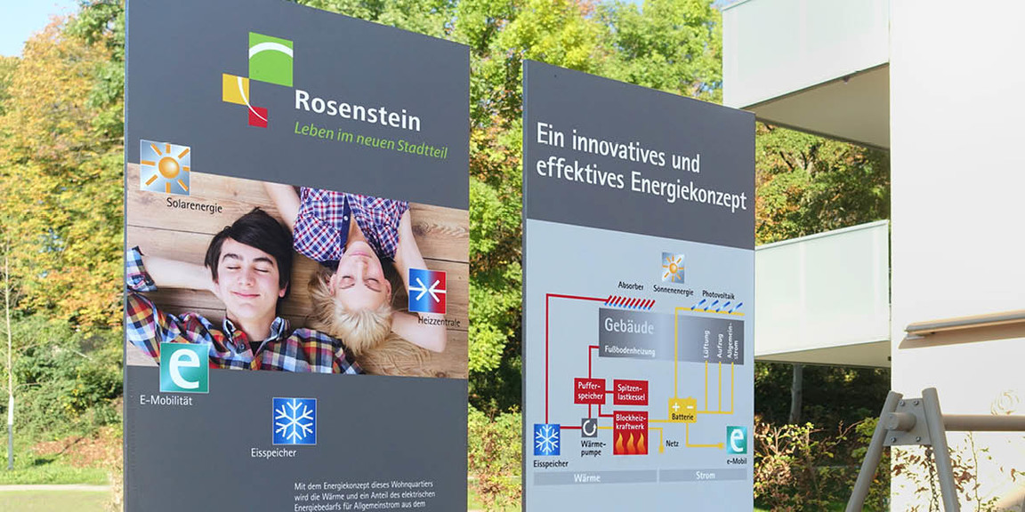 Rosenstein Viertel - Stelen 03