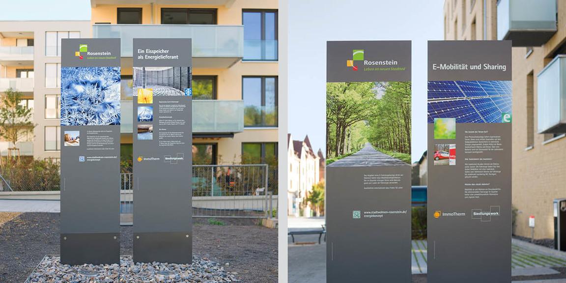 Rosenstein Viertel - Stelen 04