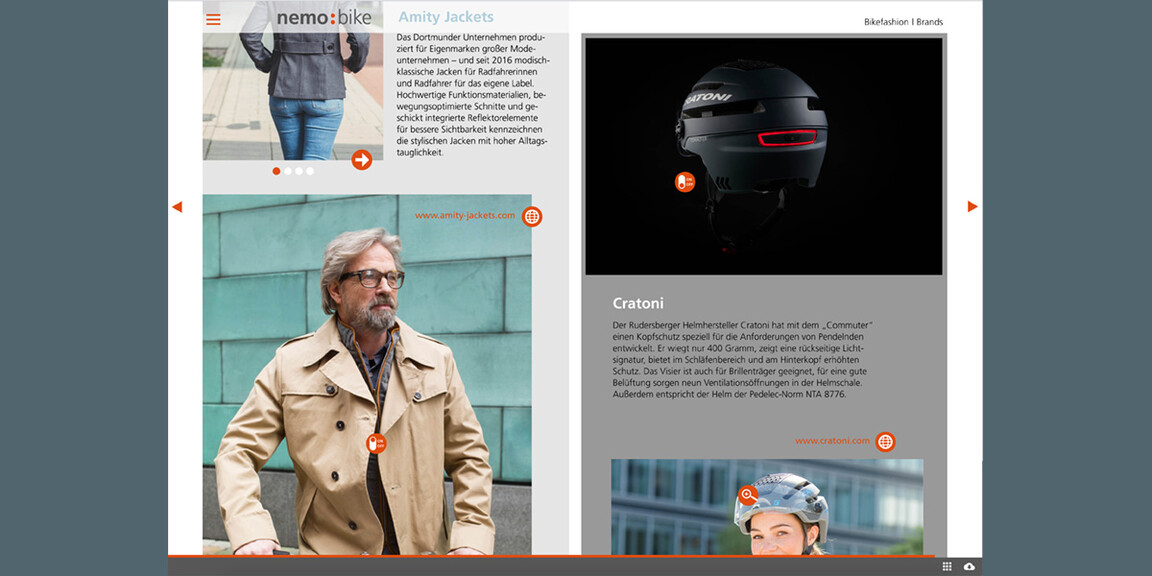 Digitales Magazin nemo bike
